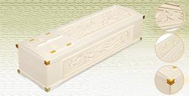 3面彫刻棺