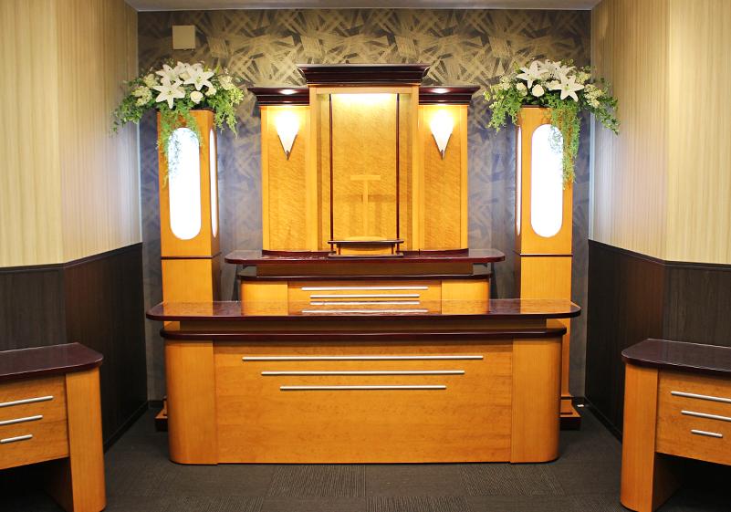 こくふプラン、こやまプラン祭壇イメージ写真